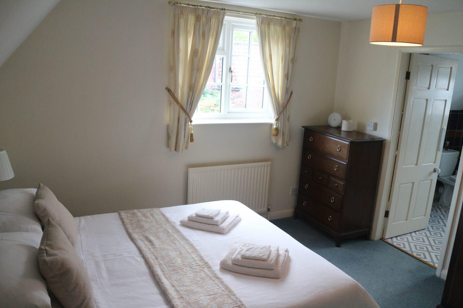 Wisteria Cottage bedroom