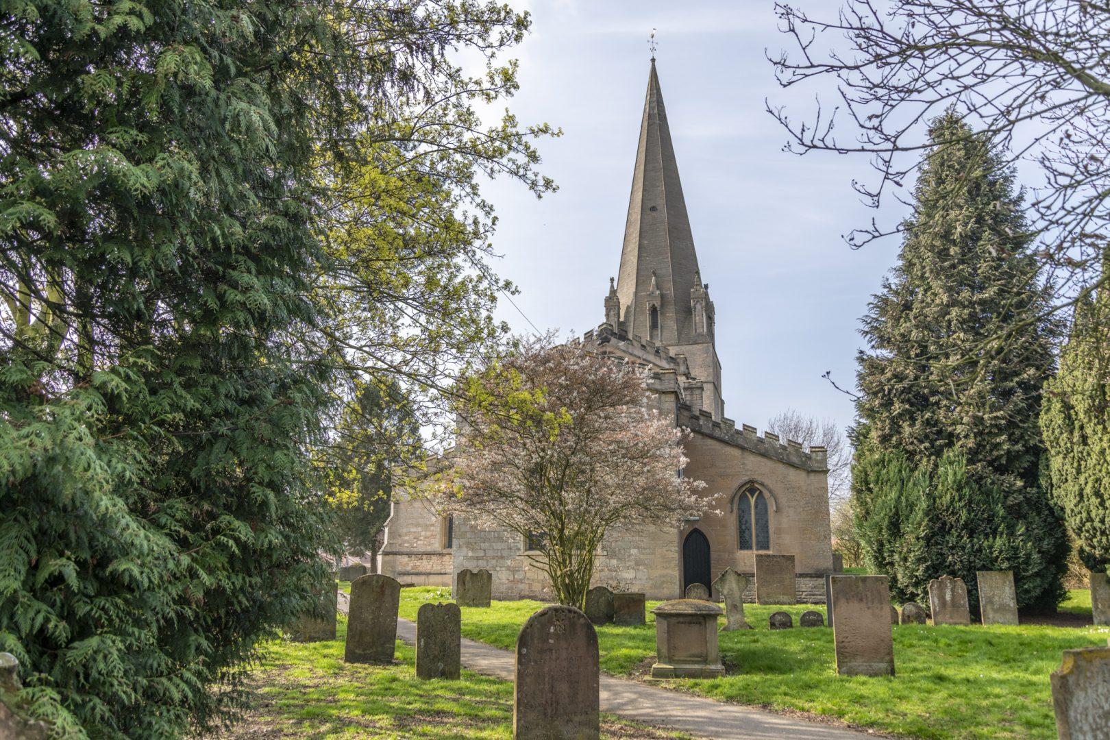 St Mary's Church in Edwinstowe